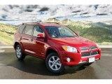 2011 Barcelona Red Metallic Toyota RAV4 V6 Limited 4WD #45448278