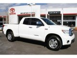 2007 Super White Toyota Tundra Limited Double Cab 4x4 #45559773