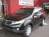 2011 Ebony Black Kia Sorento LX #45497703