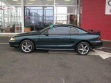 1995 Ford Mustang Deep Forest Green Metallic