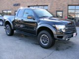 2010 Tuxedo Black Ford F150 SVT Raptor SuperCab 4x4 #45559787