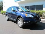 2008 Royal Blue Pearl Honda CR-V EX 4WD #45448322