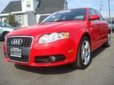 2008 Brilliant Red Audi A4 2.0T quattro S-Line Sedan #45560305