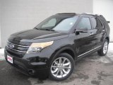 2011 Tuxedo Black Metallic Ford Explorer Limited 4WD #45448628
