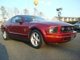 2007 Redfire Metallic Ford Mustang V6 Premium Coupe #45560327
