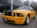 2007 Grabber Orange Ford Mustang GT Premium Coupe #45498270