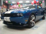 2011 Deep Water Blue Pearl Dodge Challenger SRT8 392 Inaugural Edition #45448894