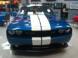 2011 Dodge Challenger Deep Water Blue Pearl