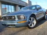 2007 Windveil Blue Metallic Ford Mustang V6 Premium Coupe #45448904