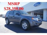2011 Sterling Grey Metallic Ford Escape XLT 4WD #45560852