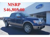 2011 Blue Flame Metallic Ford F150 King Ranch SuperCrew 4x4 #45560854