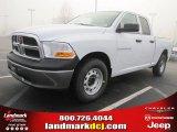 2011 Bright White Dodge Ram 1500 ST Quad Cab #45449534
