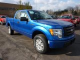 2011 Blue Flame Metallic Ford F150 STX SuperCab 4x4 #45497439