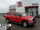 2010 Radiant Red Toyota Tundra Double Cab 4x4 #45647221