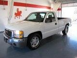 2005 Summit White GMC Sierra 1500 Regular Cab #45647229