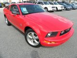 2007 Torch Red Ford Mustang V6 Deluxe Coupe #45648482