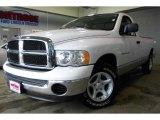 2005 Bright White Dodge Ram 1500 SLT Regular Cab #45648243