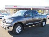 2011 Magnetic Gray Metallic Toyota Tundra SR5 Double Cab 4x4 #45648536