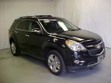 2011 Black Granite Metallic Chevrolet Equinox LTZ AWD #45450199