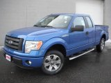 2011 Blue Flame Metallic Ford F150 STX SuperCab #45647520