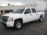 2011 Summit White Chevrolet Silverado 1500 LT Crew Cab 4x4 #45648788