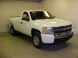2011 Summit White Chevrolet Silverado 1500 Regular Cab 4x4 #45450210