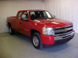 2011 Victory Red Chevrolet Silverado 1500 Extended Cab #45450211
