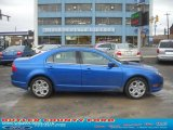 2011 Blue Flame Metallic Ford Fusion SE V6 #45648338