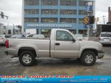 2004 Silver Birch Metallic Chevrolet Silverado 1500 LS Regular Cab 4x4 #45648339