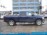 2008 Patriot Blue Pearl Dodge Ram 1500 Big Horn Edition Quad Cab 4x4 #45648342