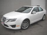 2011 White Suede Ford Fusion SEL #45647536