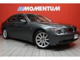 2003 Titanium Grey Metallic BMW 7 Series 745i Sedan #45648816