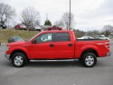 2011 Race Red Ford F150 XLT SuperCrew 4x4 #45577829