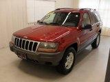 2002 Inferno Red Tinted Pearlcoat Jeep Grand Cherokee Laredo #45578791