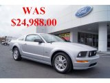 2007 Satin Silver Metallic Ford Mustang GT Premium Coupe #45497467