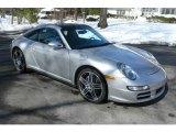 2007 Arctic Silver Metallic Porsche 911 Targa 4 #4556404