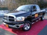 2006 Black Dodge Ram 1500 ST Quad Cab 4x4 #45497494