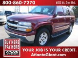 2004 Sport Red Metallic Chevrolet Tahoe LT #45691423