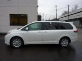 2011 Blizzard White Pearl Toyota Sienna Limited AWD #45691546