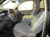 2007 Dodge Ram 1500 Sport Regular Cab 4x4 Medium Slate Gray Interior