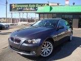 2007 Sparkling Graphite Metallic BMW 3 Series 328xi Coupe #45726170