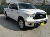 2010 Super White Toyota Tundra SR5 CrewMax 4x4 #45726180