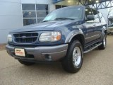 2001 Medium Wedgewood Blue Metallic Ford Explorer XLT 4x4 #45689849