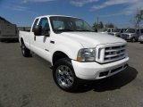 2004 Oxford White Ford F250 Super Duty XLT SuperCab 4x4 #45497619
