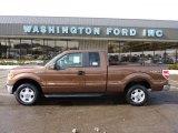 2011 Golden Bronze Metallic Ford F150 XLT SuperCab 4x4 #45726262