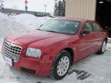 2008 Inferno Red Crystal Pearl Chrysler 300 LX #45649653