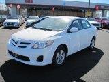 2011 Super White Toyota Corolla LE #45726282