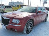 2008 Inferno Red Crystal Pearl Chrysler 300 Touring DUB Edition #45691394