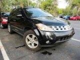 2004 Super Black Nissan Murano SL #45724874