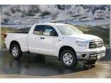 2011 Super White Toyota Tundra SR5 Double Cab 4x4 #45559752
